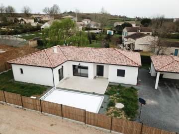 Construction d'une maison T6  de 155m² à Rabastens