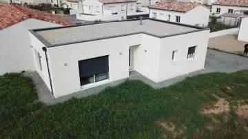 Construction d'une maison T3 de 70 m² avec toit-terrasse à Gaillac