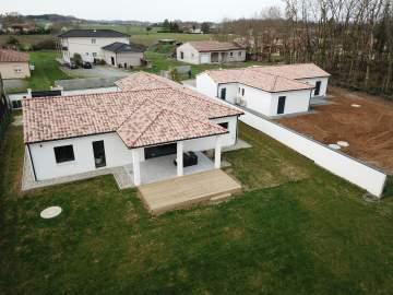Construction d'une maison T4 de 124 m² de plain-pied à Lagrave